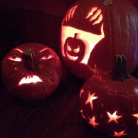 Pumpkin carving goes to the next level