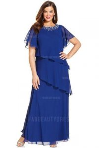 plus sized evening dress