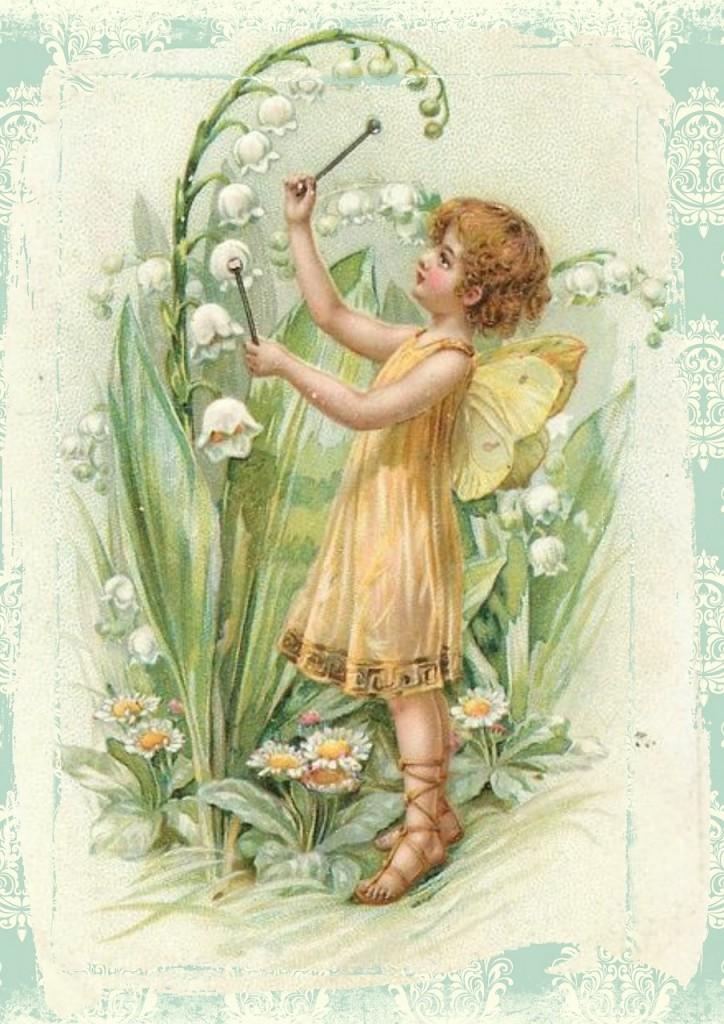 Pretty Garden Fairies