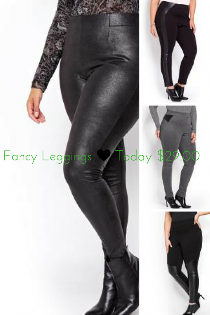 fancy leggings for plus size, plus size bottoms for her, plus sized bottoms additionelle