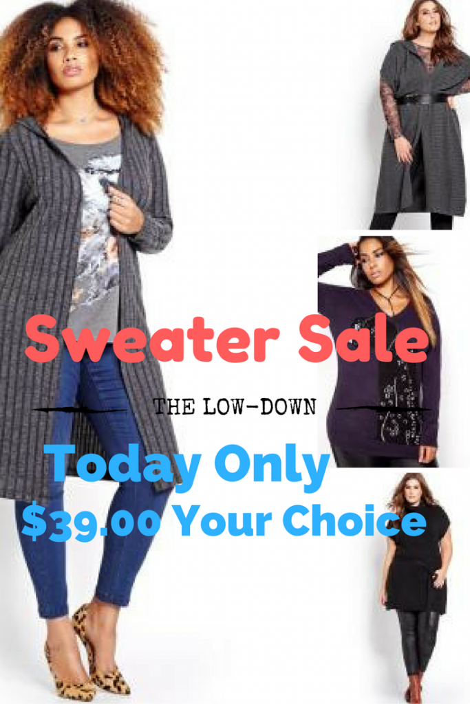 plus sized sweaters for her, additionelle sweater sale, must have sweaters plus size