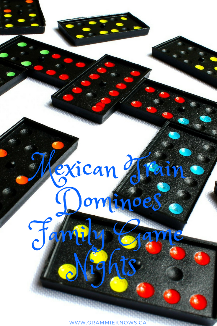 Fun Popular Board Games Family Game Nightfamily Night Mexican Train Dominoes