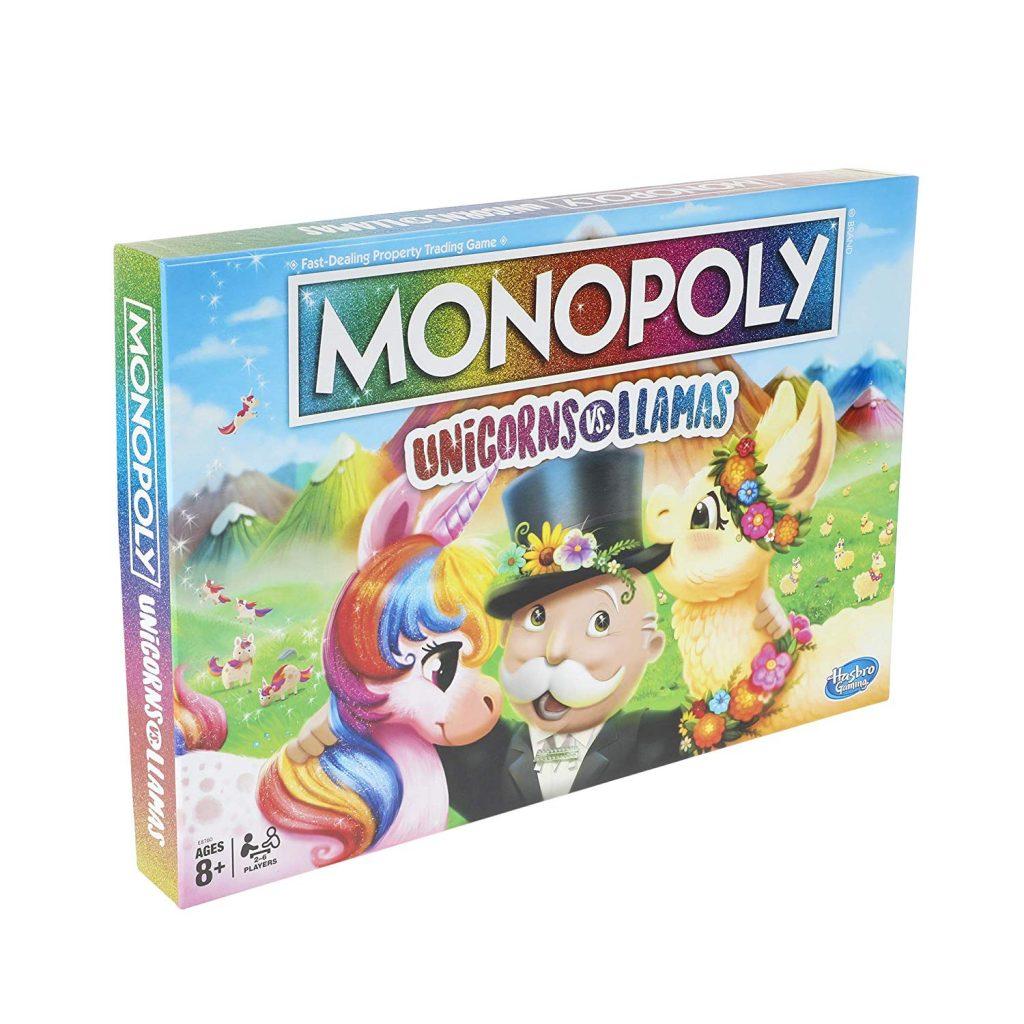family fun, games, unicorns vs llamas, board games,