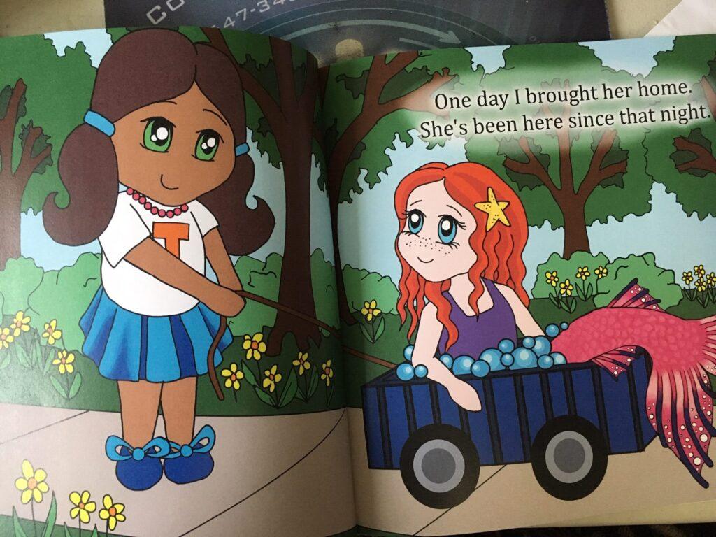 mermaids, books, children